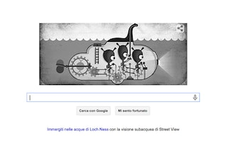 Google celebra l'81° anniversario della foto del mostro di Loch Ness