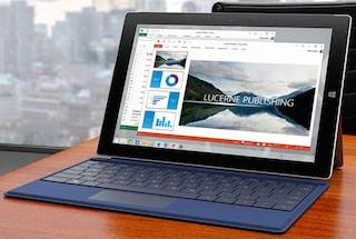 Surface 3, la versione più compatta (ed economica) del tablet di Microsoft