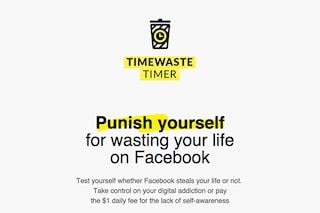 Timewaste timer, l'estensione per Chrome che punisce chi perde troppo tempo su Facebook