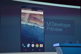 Google I/O, tutti i dettagli di Android M e della Developer Preview