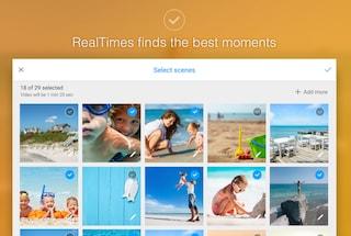 RealTimes, l'applicazione di RealNetworks per creare filmati personalizzati con le nostre fotografie