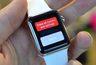 Apple Watch, un bug permette ai ladri di ripristinare lo smartwatch