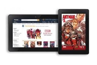 Amazon: 12 mila fumetti Marvel arrivano su Kindle Store