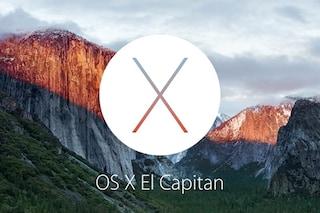 OS X El Capitan, presentato ufficialmente il nuovo sistema operativo Apple