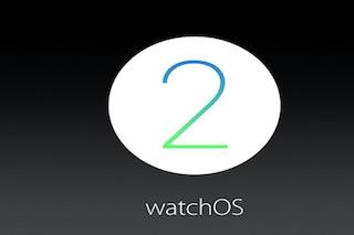 WatchOS 2, tutte le novità presentate alla WWDC 15