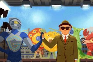 Fiji Tsuburaya, l'esperto di effetti speciali è il protagonista del nuovo Doodle di Google