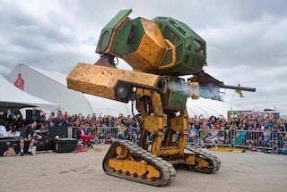 Un duello tra robot giganti: gli USA lanciano la sfida, il Giappone accetta