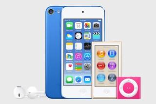 Apple, presentati i nuovi modelli di iPod colorati: c'è anche l'oro