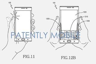 Samsung Galaxy Edge, un brevetto mostra una nuova tecnologia per la cover posteriore