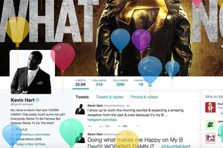 Twitter permette di inserire la data di nascita nel profilo