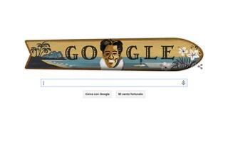 Duke Kahanamoku, Google celebra i 125 anni dalla nascita del padre del surf