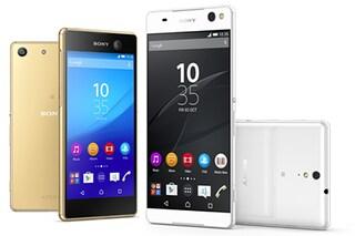 Sony annuncia due nuovi smartphone per gli amanti dei selfie: Xperia C5 Ultra e Xperia M5