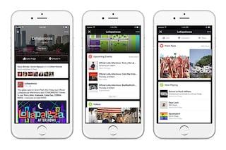 Facebook testa un nuovo servizio per seguire live gli eventi