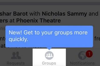 Facebook aggiorna l'app per iPhone: tutte le novità