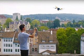 Fotokite Phi, il drone (al guinzaglio) per scattarsi selfie aerei