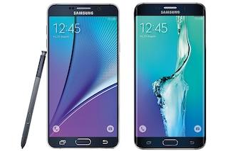 Galaxy Note 5 e Galaxy S6 Edge+, le foto ufficiali dei nuovi smartphone Samsung