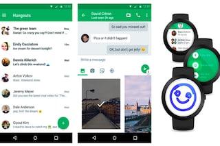 Google Hangouts, nuovo aggiornamento per Android: tra le novità il Material Design