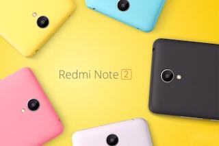 Redmi Note 2, presentato ufficialmente il nuovo phablet Android di Xiaomi
