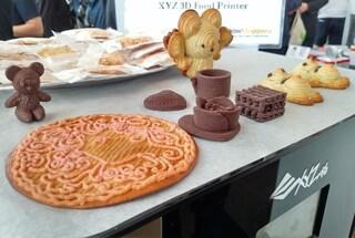 La stampante 3D in grado di stampare pizza, biscotti e torte