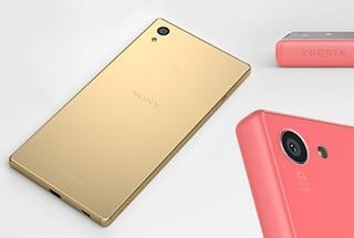 Xperia Z5, Sony presenta i nuovi smartphone top di gamma