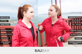 Baubax, la felpa multifunzione che in 7 ore ha ottenuto più di 9 milioni su Kickstarter
