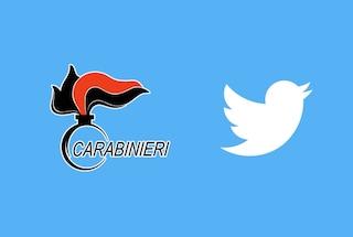 Twitter, i Carabinieri lanciano il profilo ufficiale e l'hashtag #PossiamoAiutarvi