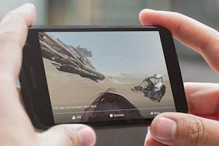 Facebook, disponibile il supporto ai video a 360 gradi