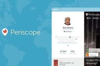 Periscope introduce i profili web