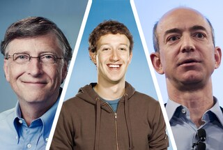 Gli americani più ricchi fanno tutti parte del mondo della tecnologia
