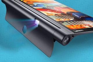 Yoga Tab 3 Pro è ufficiale, Lenovo presenta il tablet con proiettore incorporato