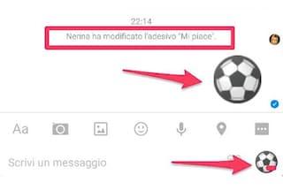 Facebook Messenger, in arrivo la possibilità di scegliere un adesivo al posto del Mi piace