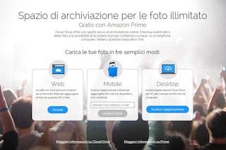 Amazon, disponibile il nuovo servizio Prime Foto: ecco come salvare online le foto