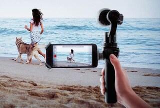 DJI Osmo, la videocamera portatile (e stabilizzata) per girare video in 4K