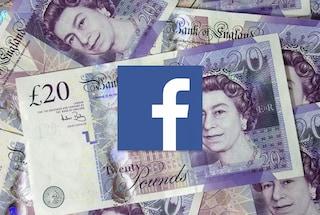 "Regno Unito, Facebook pagherà ""diversi milioni di sterline"" in più di tasse"
