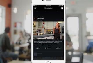 Facebook punta tutto sui video: in arrivo nuove funzioni e una sezione dedicata