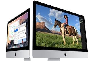 iMac 4K, un nuovo modello con display da 21,5 pollici in arrivo nel mese di ottobre