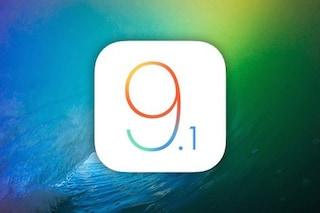 iOS 9.1 disponibile al download: tutte le novità dell'aggiornamento