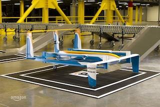 Amazon Prime Air, un video mostra il design dei nuovi droni per le consegne