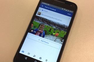 Facebook avviserà i genitori quando condividono foto con bambini