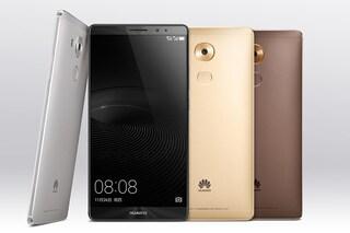 Huawei Mate 8, presentato ufficialmente il nuovo phablet Android