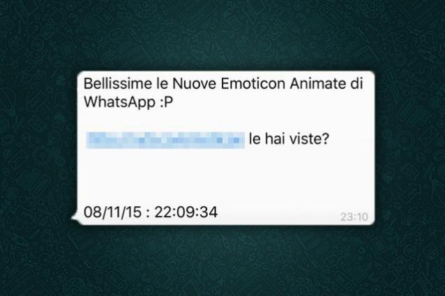whatsapp virus messaggio