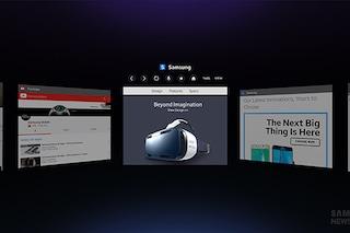 Samsung Internet, il nuovo browser per Gear VR