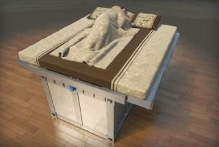 Ecco il letto-sarcofago per sopravvivere ad un terremoto
