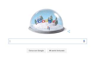 Solstizio di Inverno, Google realizza un Doodle per il giorno più breve dell'anno