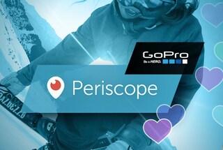 Periscope, da oggi è possibile utilizzare una GoPro per le dirette video