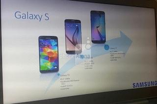 Samsung Galaxy S7, le caratteristiche tecniche in una slide