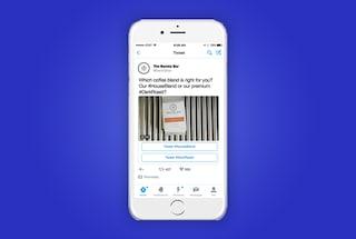 Conversational Ads, Twitter lancia gli annunci interattivi