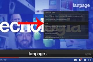 YouTube, disponibile la nuova funzione per attivare la riproduzione in loop dei video
