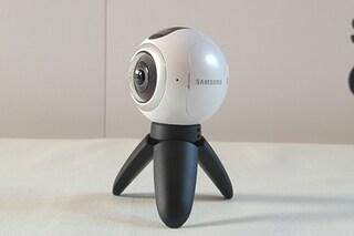 Samsung Gear 360, presentata la nuova videocamera a 360 gradi