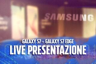 Presentazione Galaxy S7 e Galaxy S7 Edge: tutte le novità annunciate da Samsung in diretta